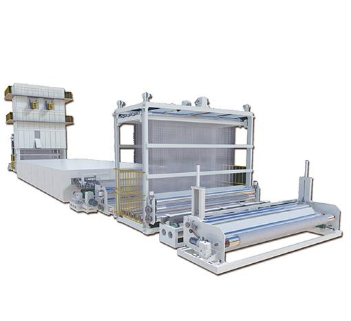 玻纤(化纤)土工格栅生产线